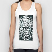 mirror Tank Tops featuring mirror by Valeria Kondor