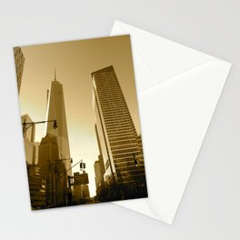 The Freedom Tower Stationery Cards