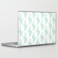 cactus Laptop & iPad Skins featuring Cactus by Emma Winton