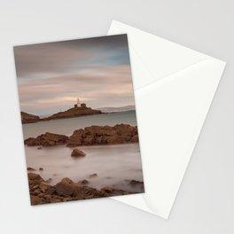 Bracelet Bay and Mumbles lighthouse Stationery Cards