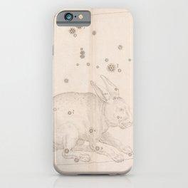 Johann Bayer - Uranometria / Measuring the Heavens (1661) - 35 Lepus / The Rabbit iPhone Case