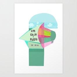 Um Gajo é Parvo Art Print