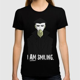 Requiem Mask - I AM Smiling. T-shirt