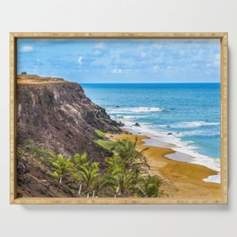 Praia Do Amor, Pipa - Brazil Serving Tray