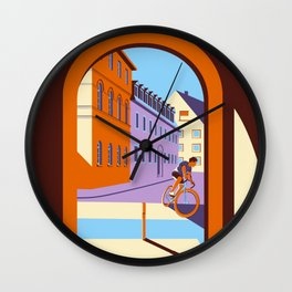 Once Upon a Time in Germany Wall Clock