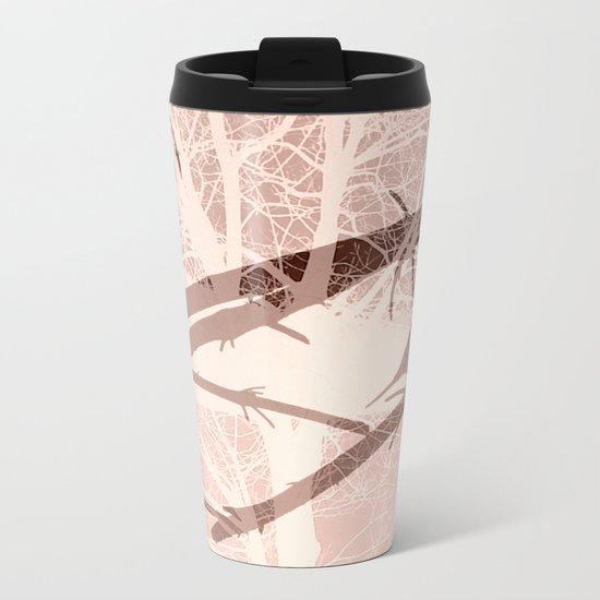 Bird tree Metal Travel Mug