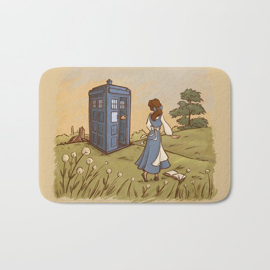 Adventure in the Great Wide Somewhere Bath Mat