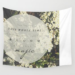 And that's magic. Wall Tapestry