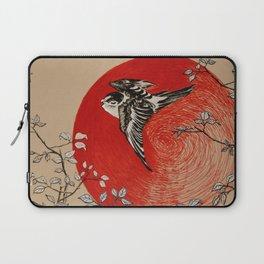 Japan Bird Laptop Sleeve