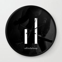 infiniteloop art Wall Clock