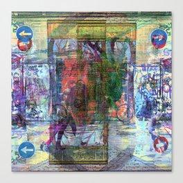 For when the segmentation resounds, abundantly. 13 Canvas Print