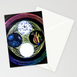 Space and Light Stationery Cards