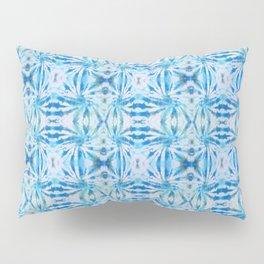 Summer Vibes Tie Dye in Lagoon Blue Pillow Sham