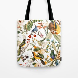 Floral and Birds XXXII Tote Bag