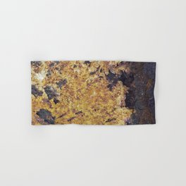 Rusty Metal Abstract Texture Hand & Bath Towel