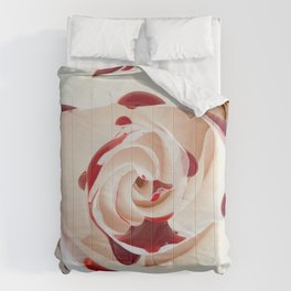 Bleeding Rose Macro Comforters