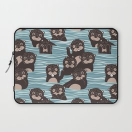 Otters dazzling the audience Laptop Sleeve