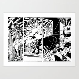 Power out Art Print