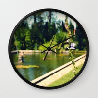lonely Wall Clocks featuring lonely by Kras Arts - Fly Me To The Moon