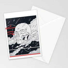 HEAD IN THE SKY Stationery Cards