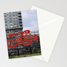 Cola sign at New York City Stationery Cards