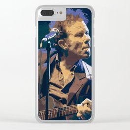 Waits Clear iPhone Case