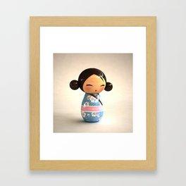 Kokeshi 03 Framed Art Print