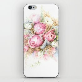 Vintage Bouquet iPhone Skin
