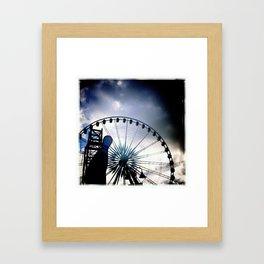 Dark Carnival Framed Art Print