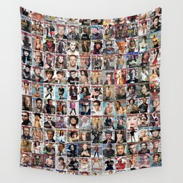Rolling Stone Magazine Covers Wall Tapestry