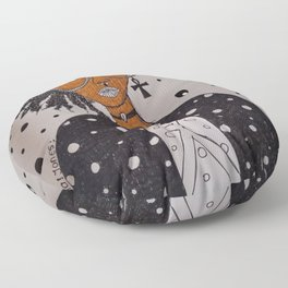 AFroGaLacTic Space Girl Floor Pillow