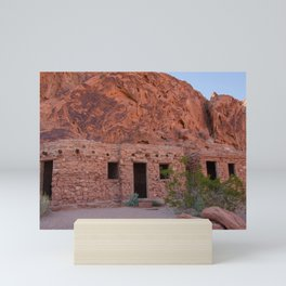 CCC Cabins-1, Valley of Fire State Park, Nevada Mini Art Print