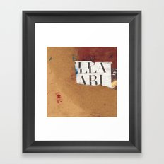 30x100 1 Framed Art Print