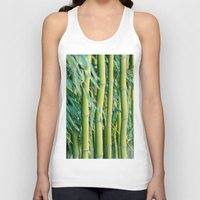bamboo Tank Tops featuring Bamboo by Laura Ruth