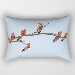 Pink & Greys Rectangular Pillow