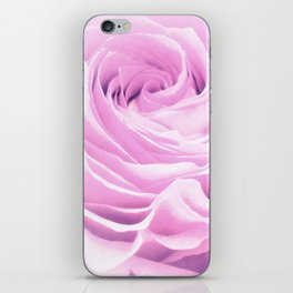 Sweet pastel rose iPhone Skin