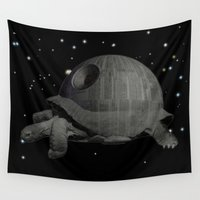sith Wall Tapestries featuring DS PROTOTYPE 1.1 by Lazy Bones Studios