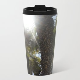 Palm Trees Perspective Travel Mug