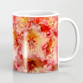 Coral colored rhododendrons Coffee Mug