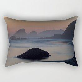 Late Rectangular Pillow