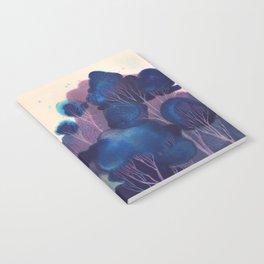 Blue Woodland Notebook