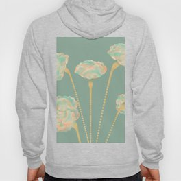 Line Carnations 1a Hoody