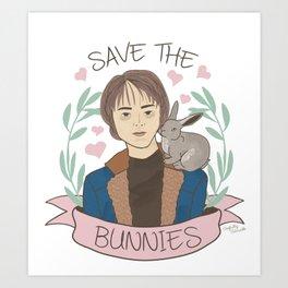 What, I'm a fan of Thumper Art Print