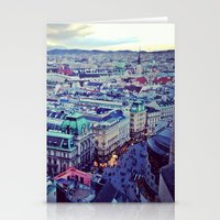 vienna Stationery Cards featuring Vienna by SandraHuezo