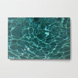 WaterSign Metal Print