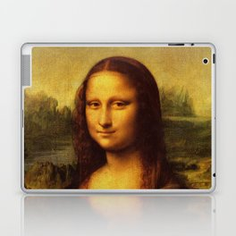 Leonardo Da Vinci Mona Lisa Painting Laptop & iPad Skin