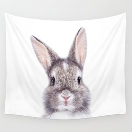 Baby Bunny, Baby Animals Art Print By Synplus Wall Tapestry