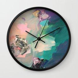 Mineral Meteor Wall Clock