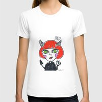 evil T-shirts featuring Evil by Amy Lee