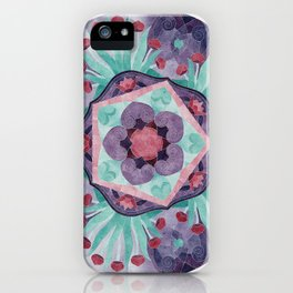 Egyptian Lotus 5 Star iPhone Case